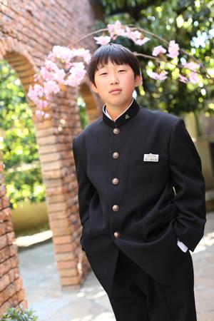 ちさとちゃん、しんたろうくん☆入学記念_b0203705_17314177.jpg