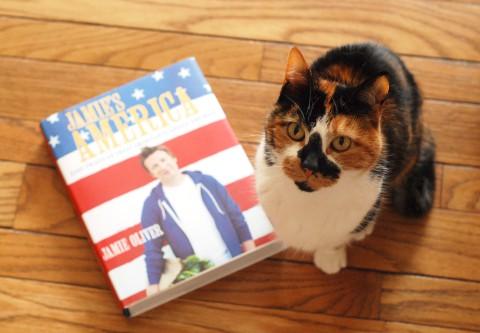Jamie Oliver の、アメリカ料理の本_b0253205_6365739.jpg