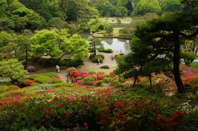 ツツジの美しい庭園にて_a0257652_1743922.jpg