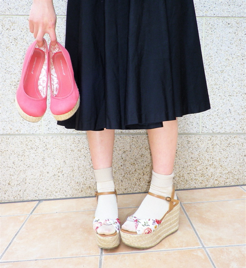 Enjoy Your Step!=Summer Shoes×Sale Shoes= _e0148852_20364133.jpg