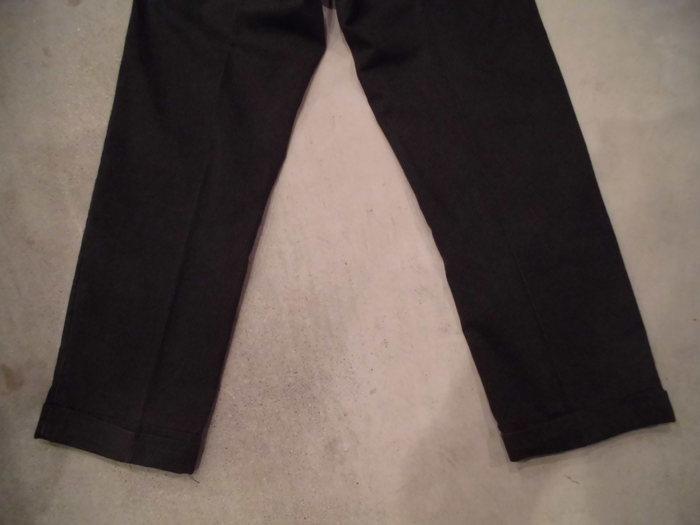 VINTAGE Buckle Back Stripe Work Trousers_e0187362_1323129.jpg
