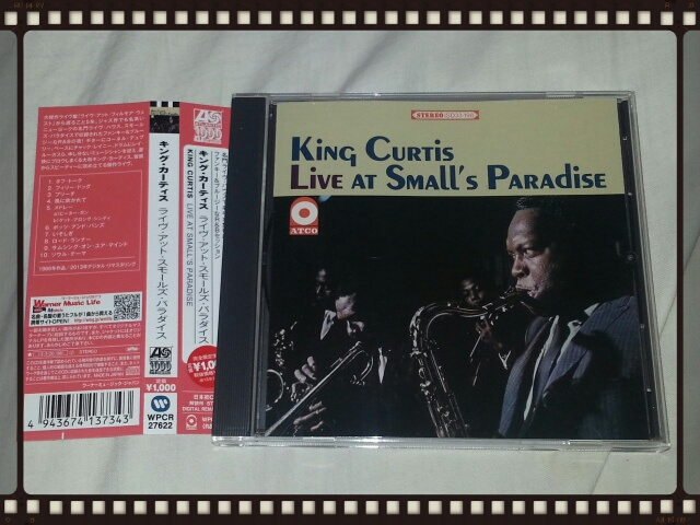 KING CURTIS / LIVE AT SMALL\'S PARADISE_b0042308_2265415.jpg