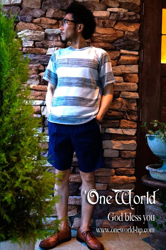 Summer knit × Tee_a0155932_209025.jpg