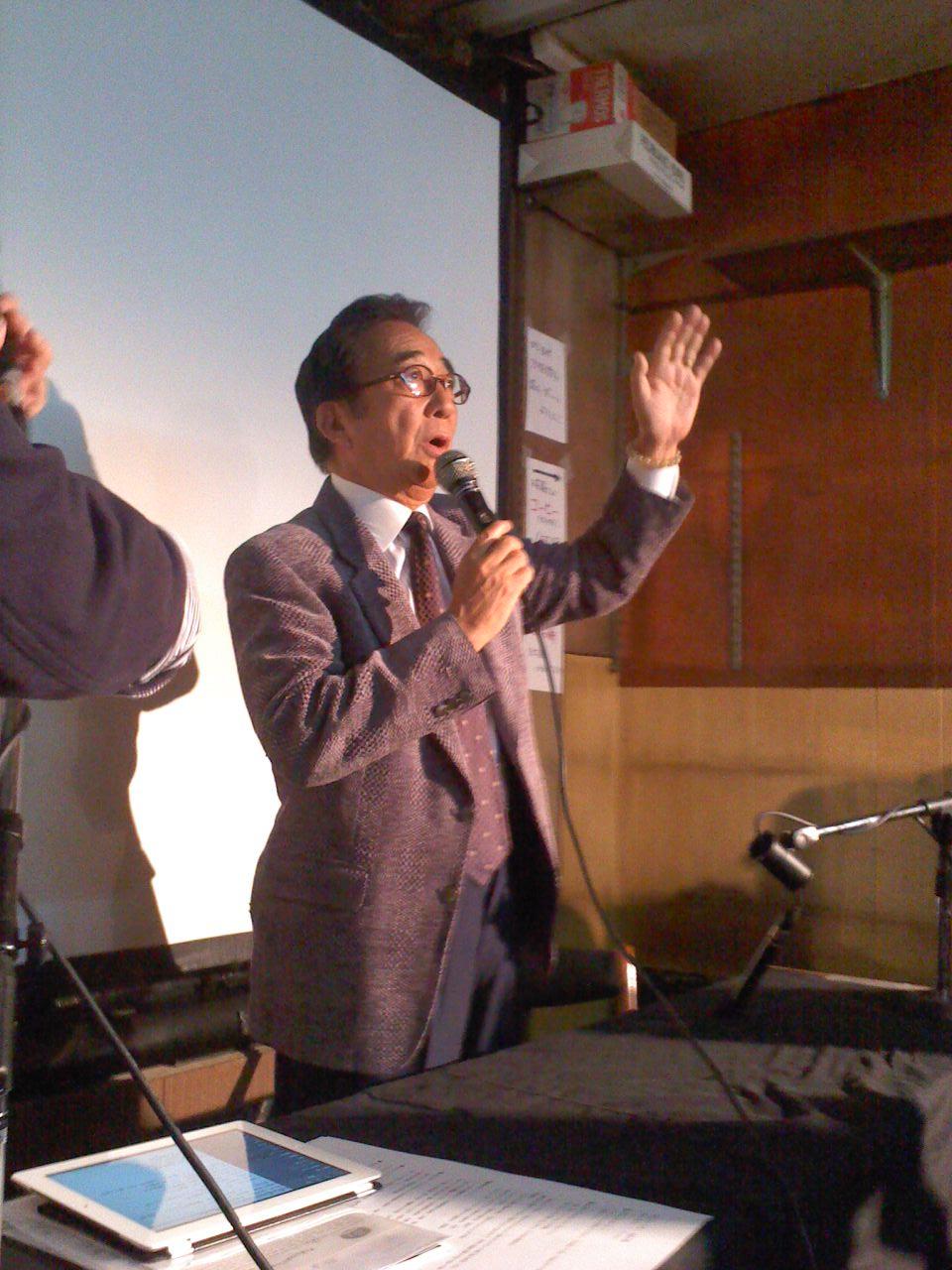 コンちゃん、西川先生、怪獣市場に登場!_a0196732_1522653.jpg