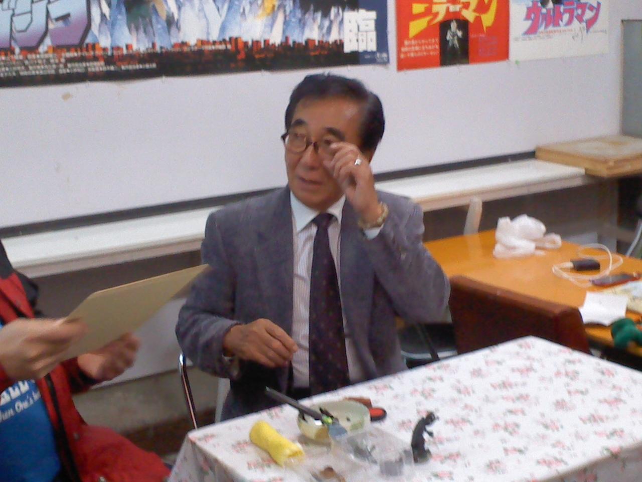 コンちゃん、西川先生、怪獣市場に登場!_a0196732_15253031.jpg
