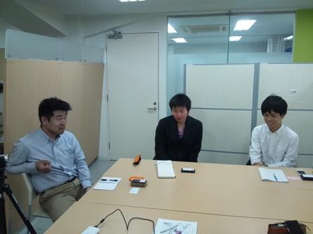 ジョブウェブで株式会社toizの前島恵さんに会う_f0138645_2020267.jpg