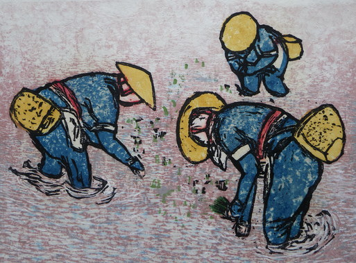 臨時休業と小林寿一郎 木版画展『遊心』のお知らせ_d0178448_11392851.jpg