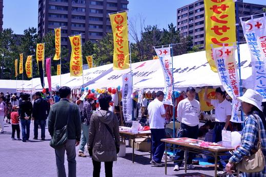 「福島の子どもたち香川へおいでプロジェクト」サンサン祭り2013 に参加 レポ 高松_b0242956_1840365.jpg