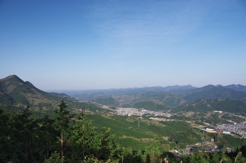 見晴台からの新緑_f0266284_123729.jpg