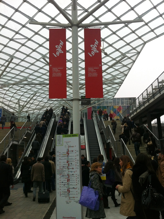 Oyadica goes to Milano Salone -DAY4/1st day of the show-_f0236691_16141214.jpg