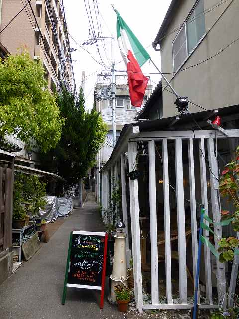 LA LANTERNA di Genova(ラ・ランテルナ・ディ・ジェノヴァ)中崎町_c0118393_8291623.jpg