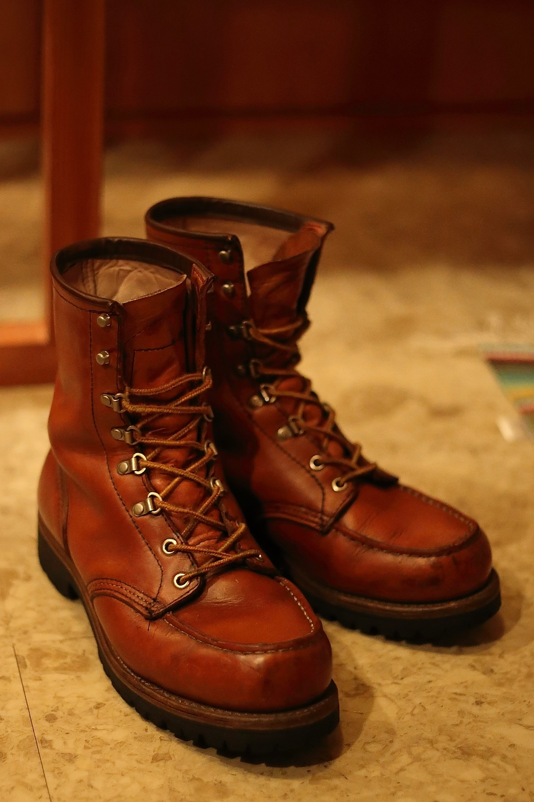 RED WING Irish Setter 855 レッドウイング_d0081605_3192346.jpg