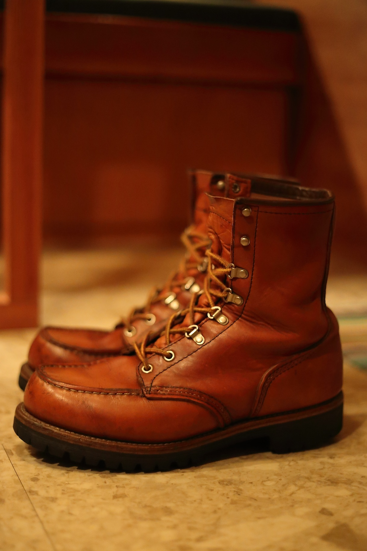 RED WING Irish Setter 855 レッドウイング_d0081605_3192621.jpg