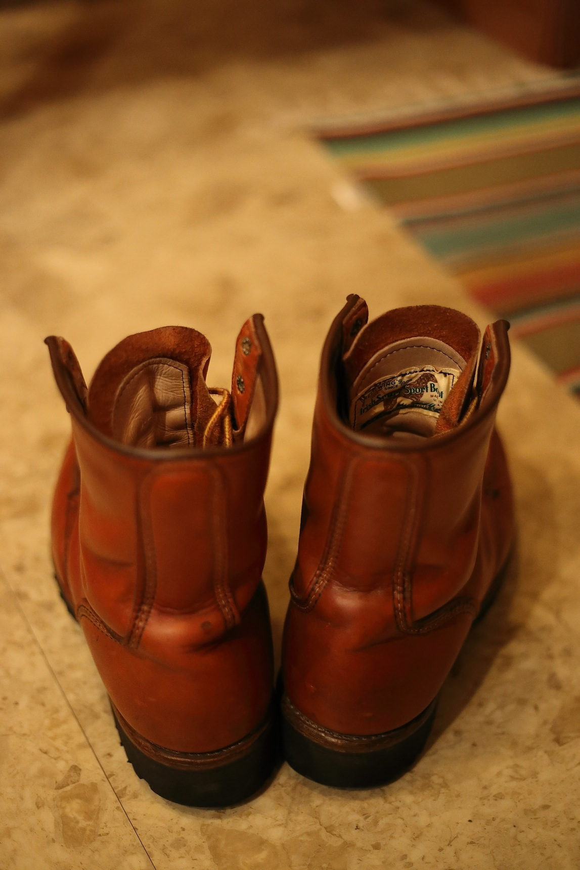 RED WING Irish Setter 855 レッドウイング_d0081605_3192882.jpg