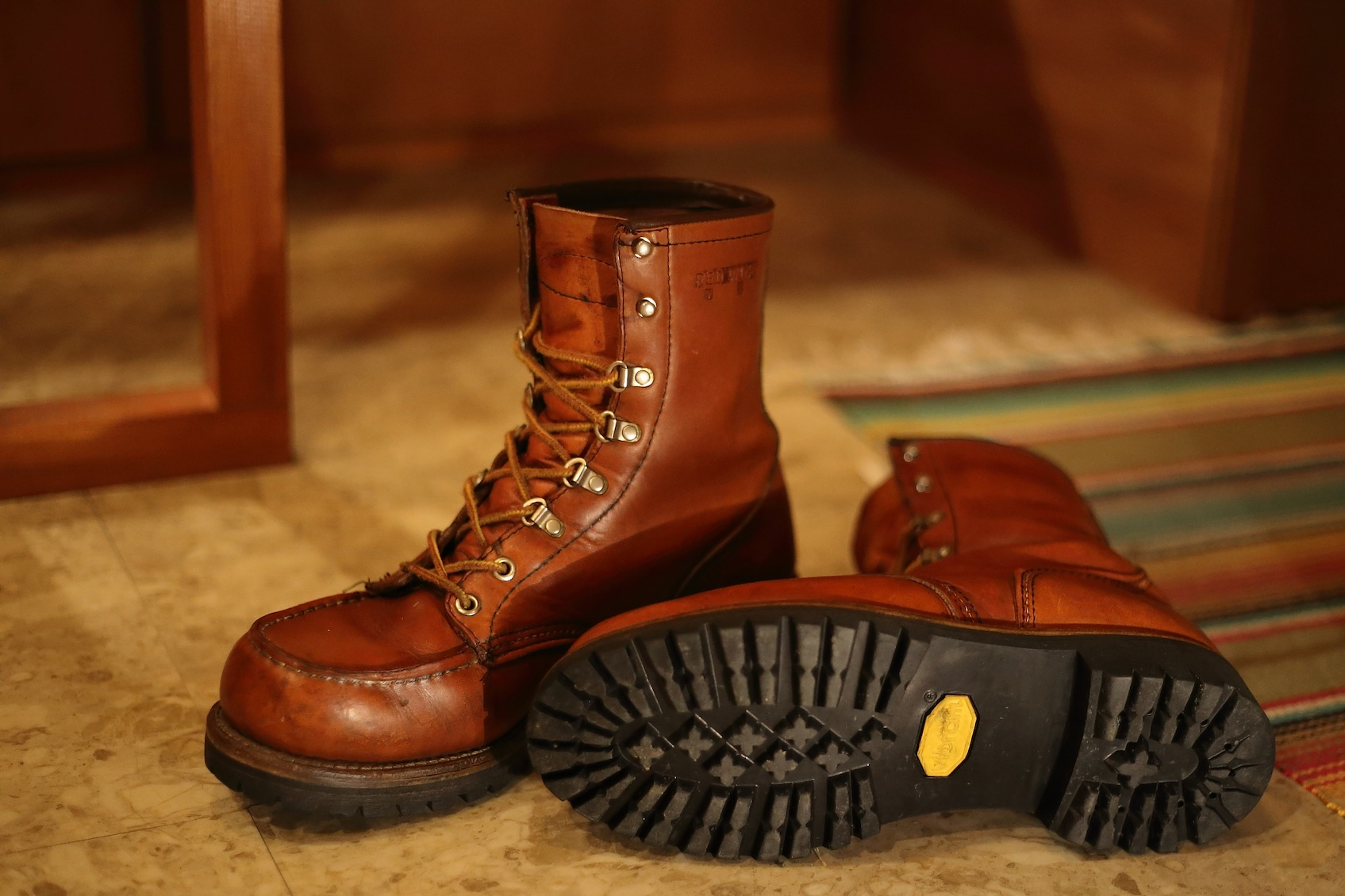 RED WING Irish Setter 855 レッドウイング_d0081605_3193086.jpg