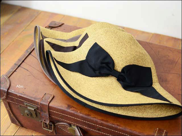abu [アブ] PIPING RIBBON HAT [NH-008P]_f0051306_2335596.jpg
