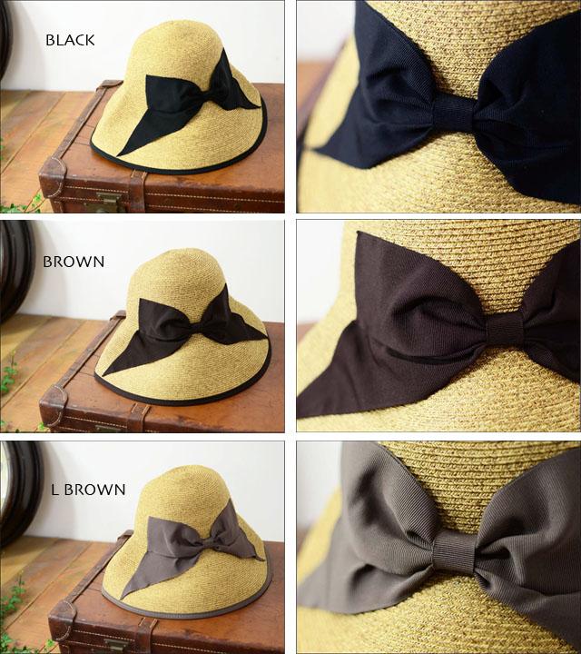 abu [アブ] PIPING RIBBON HAT [NH-008P]_f0051306_233601.jpg