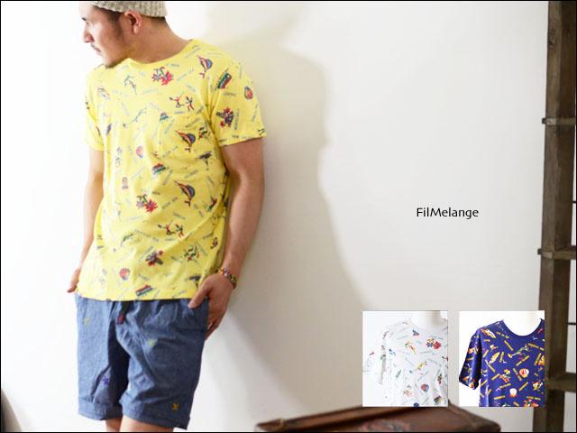 Filmelange [フィルメランジェ] ALEX/アレックス 柄Tシャツ [FML-002484]_f0051306_23391947.jpg