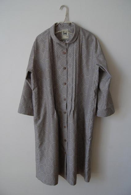 着物リメイク・大島紬のワンピースコート_d0127925_13232597.jpg