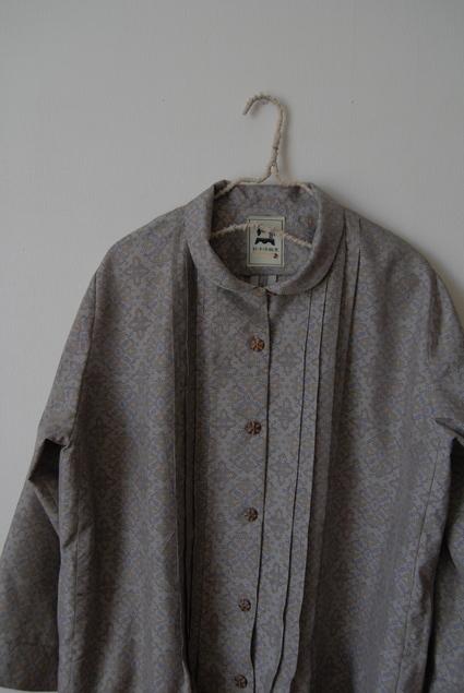 着物リメイク・大島紬のワンピースコート_d0127925_13234476.jpg