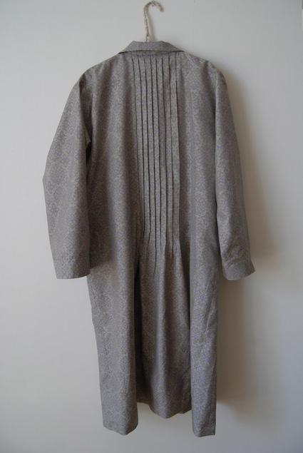 着物リメイク・大島紬のワンピースコート_d0127925_132366.jpg