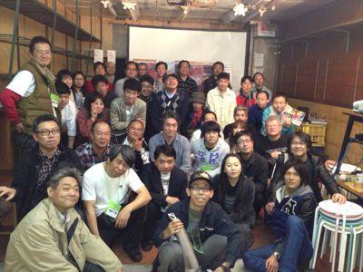 コンちゃん、西川先生、怪獣市場に登場!_a0196732_2265932.jpg