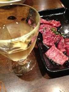 ワインとキャンドルと焼肉・・・_d0086634_17441485.jpg