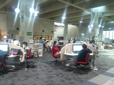 東北大学図書館のラーニング・コモンズ_f0138645_13431181.jpg