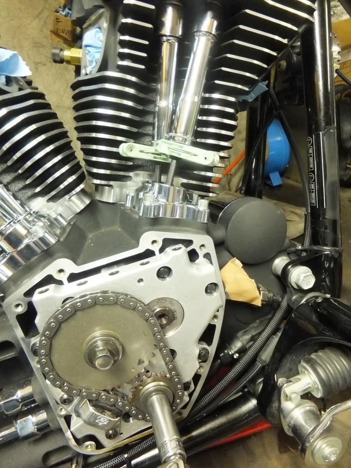 ツインカム107B エンジン組立 完成_c0226202_6355030.jpg