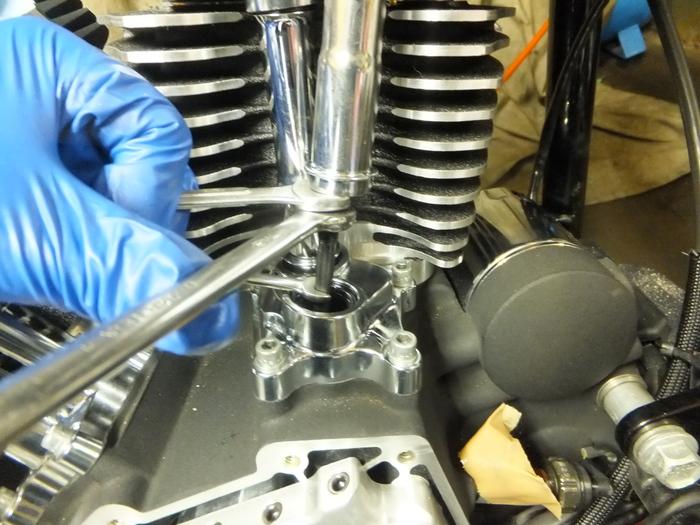 ツインカム107B エンジン組立 完成_c0226202_638943.jpg