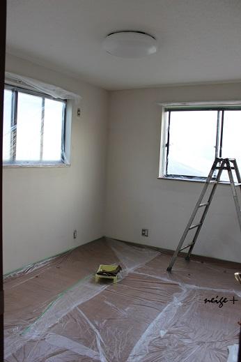 子供部屋の大改造♪ 漆喰壁つくり&ロフトベッド_f0023333_2248051.jpg