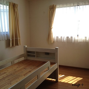 子供部屋の大改造♪ 漆喰壁つくり&ロフトベッド_f0023333_22552662.jpg