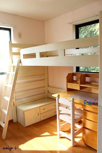 子供部屋の大改造♪ 漆喰壁つくり&ロフトベッド_f0023333_22591079.jpg
