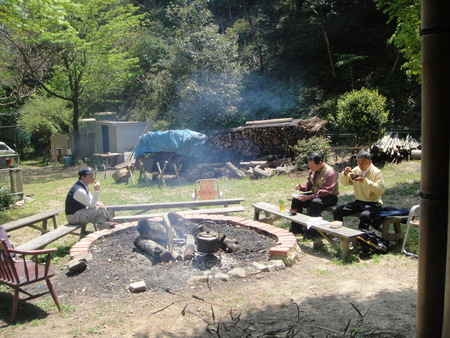 孝子の森の植物観察  &  ボランティア3グループ交流会_c0108460_21294932.jpg