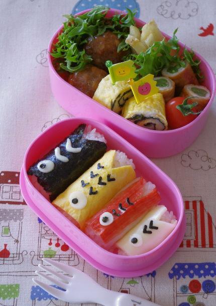 お出かけするなら、「こいのぼりおにぎり」のお弁当を持って楽しさアップ!【レシピ付き】