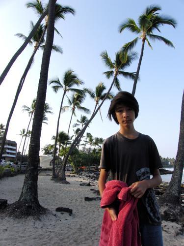 久しぶりのビーチにて_e0129046_853066.jpg