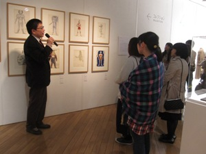 『青森県立美術館展 コレクションと空間、そのまま持ってきます』ギャラリートーク/レポートその②_f0023676_19103884.jpg