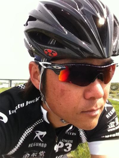金栄堂サポート:Team Logisty Jack 善波昭選手アイウェアインプレッション!_c0003493_9444873.jpg