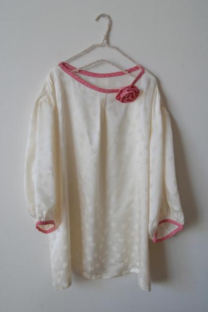 着物リメイク・絞り羽織のジャケット&ブラウス_d0127925_1791741.jpg
