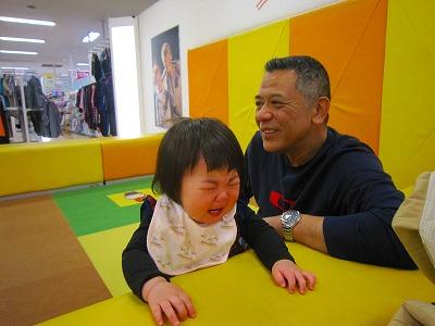 孫には泣かれたけど(笑)_d0070634_15315969.jpg