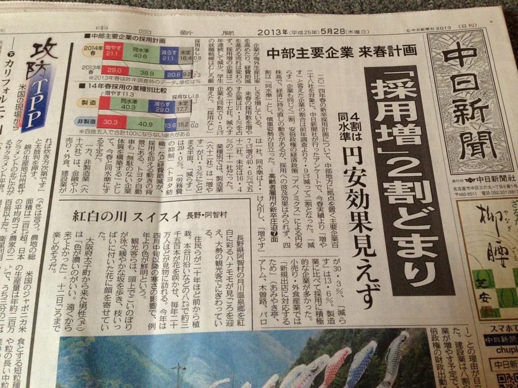 中日新聞にとっての景気効果のハードル高すぎ_d0044584_10535457.jpg