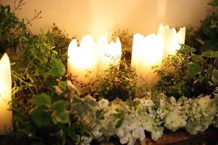 シェ松尾青山サロン様の装花 森のように、ティモテのCMのように_a0042928_939508.jpg