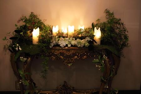 シェ松尾青山サロン様の装花 森のように、ティモテのCMのように_a0042928_940547.jpg