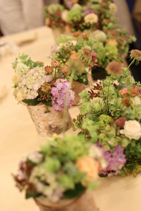 シェ松尾青山サロン様の装花 森のように、ティモテのCMのように_a0042928_9414326.jpg