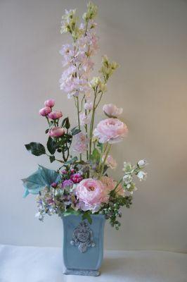 母の日に~ピンクのお花(アーティフィシャル)で。_f0155431_22422462.jpg