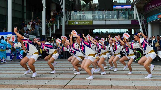 四国の祭 2013 徳島文理大学連_d0246136_2324134.jpg