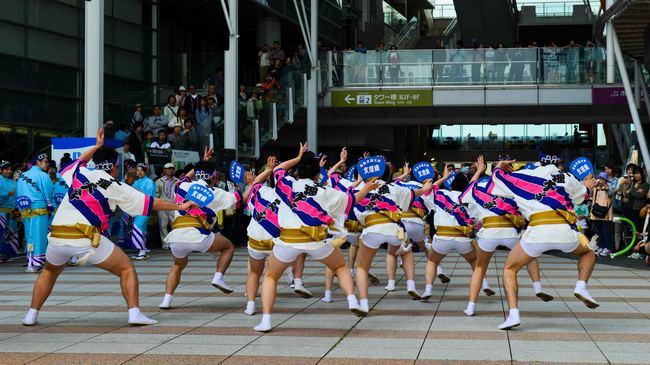 四国の祭 2013 徳島文理大学連_d0246136_2324266.jpg