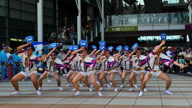 四国の祭 2013 徳島文理大学連_d0246136_23244013.jpg