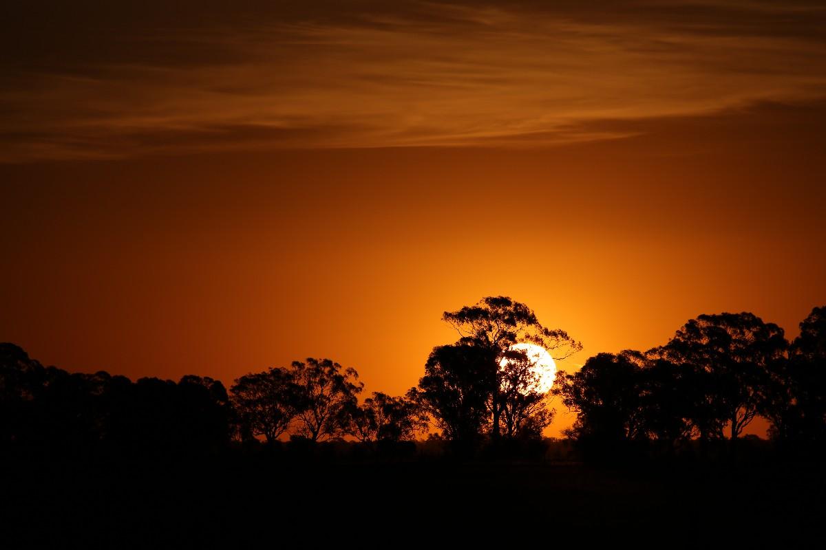 オーストラリアの夕焼けはとにかくすごい!_a0095470_22152554.jpg