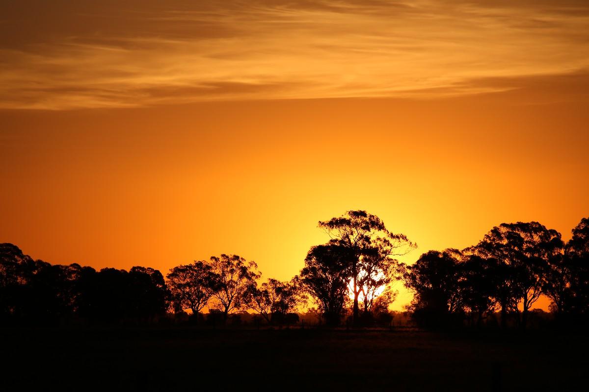 オーストラリアの夕焼けはとにかくすごい!_a0095470_22211321.jpg